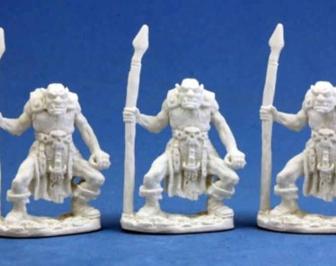 77003: Orc Spearmen (3) - Reaper Miniatures