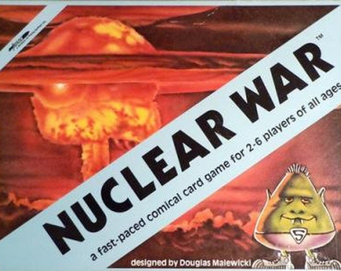 Nuclear War: A Fast Paced Comical Card Game - Flying Buffalo Games