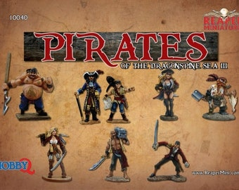 Pirates of the Dragonspine Sea III - 10040 - Reaper Miniatures