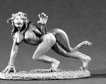 02140: Cleo, Weretigress - Reaper Miniatures
