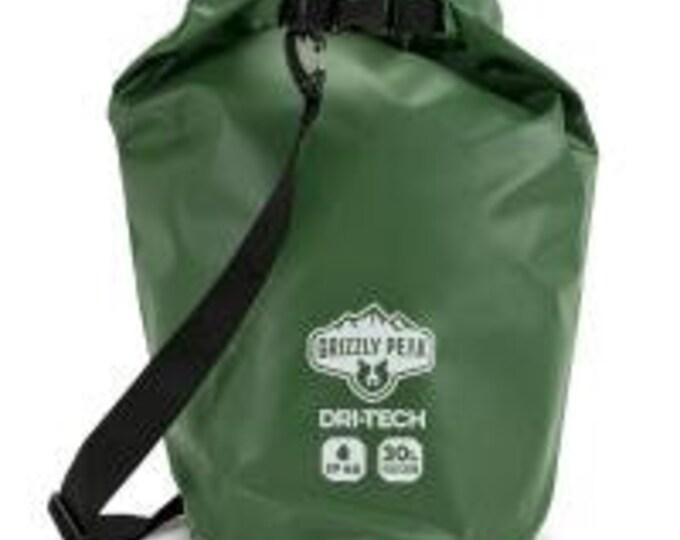 30L Dri-Tech Waterproof Dry Bag - Grizzly Peak