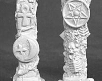 02094: Pillars of Good & Evil - Reaper Miniatures
