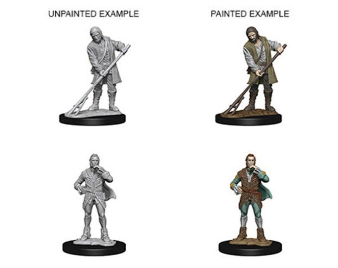 Pathfinder Unpainted Minis: Townspeople - 72584 - WizKids