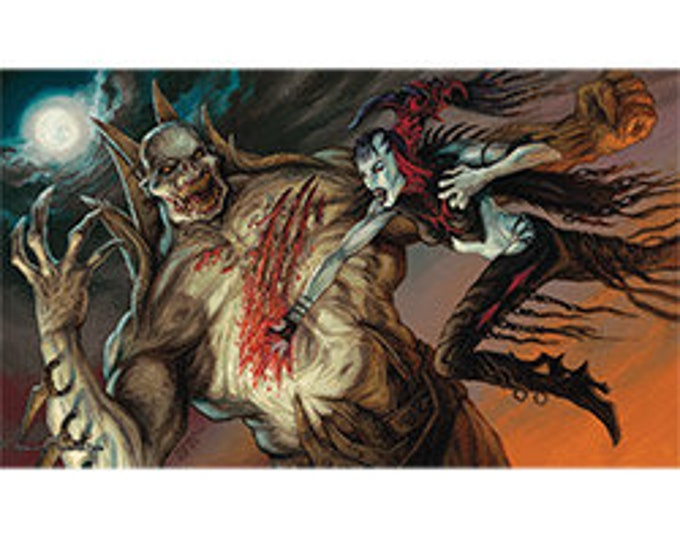 Playmat: Nosferatu vs Zombiel - ACT28 - Action Sports