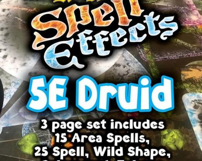 Flat Pack Miniatures: DnD 5e Druid Spell Effects - ArcKnight