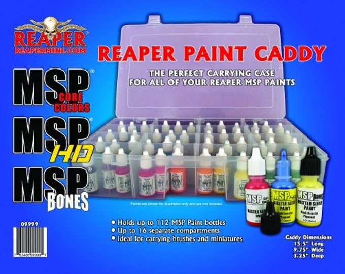 09999: Reaper Paint Caddy - Reaper Miniatures
