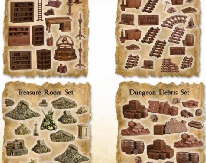 Terrain Crates: Dungeon Crate - Mantic Games (Backorder)