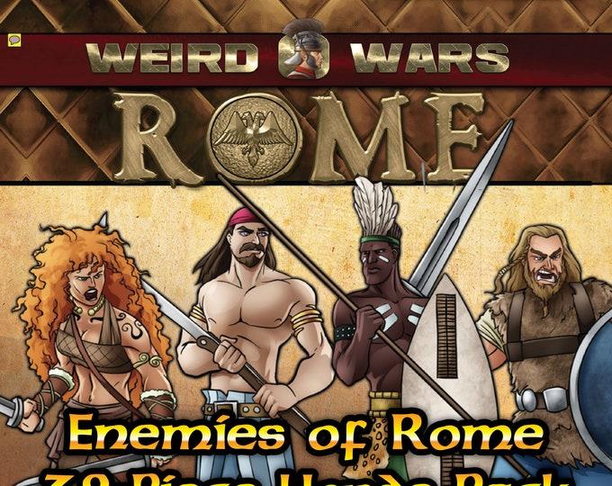 Flat Pack Miniatures: Weird Wars Rome Enemies of Rome Horde - ArcKnight
