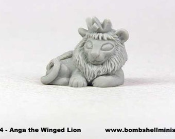 60024: Sidekicks - Anga the Winged Lion - Bombshell Miniatures