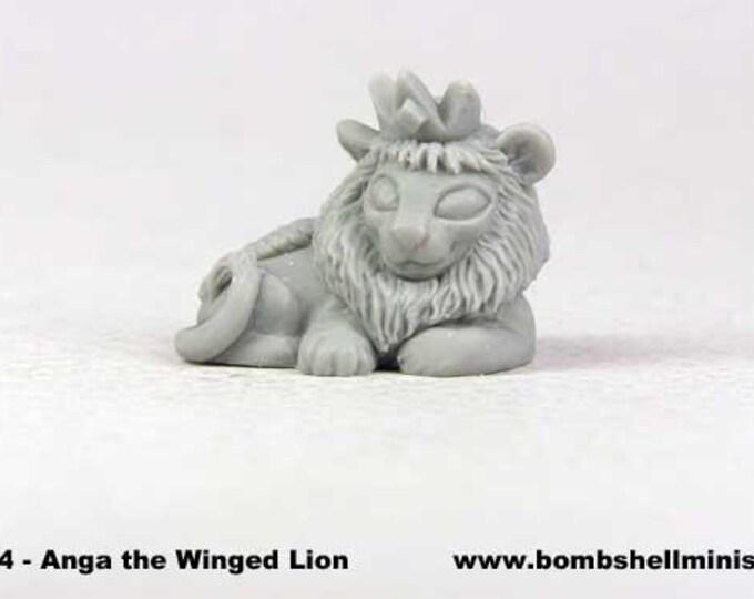 60024: Sidekicks - Anga the Winged Lion - Bombshell Miniatures