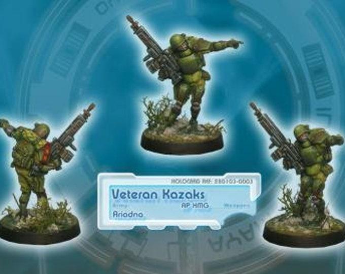 Ariadna: Veteran Kazaks (AP HMG) New Version - 280103 - Corvus Belli