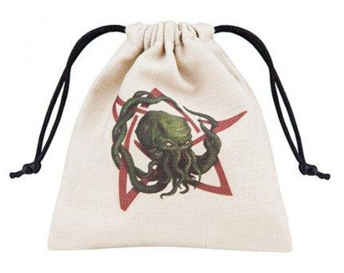 Dice Accessories: Call of Cthulhu Dice Bag (Color) - Q-Workshop