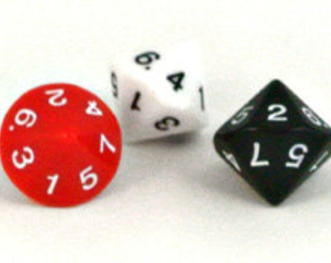 Unusual Dice - d7 Fourteen-Sided Die