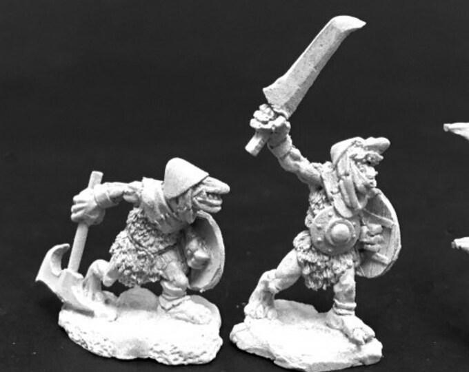 Cave Goblin Warriors (2) - 03776 - Reaper Miniatures