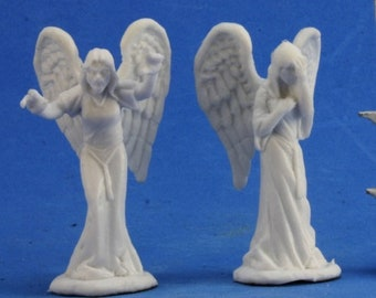 77362: Angels of Sorrow (2) - Reaper Miniatures