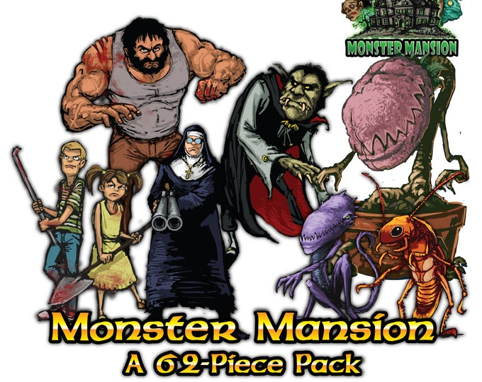 Flat Pack Miniatures: Monster Mansion - ArcKnight