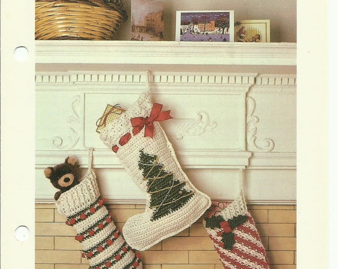 Christmas Stockings crochet pattern download