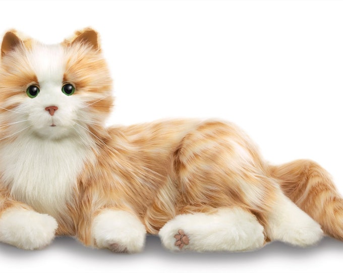 Joy For All Orange Tabby Companion Pet Cat - Ageless Innovation