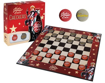 Checkers: Fallout Nuka-Cola - USAopoly