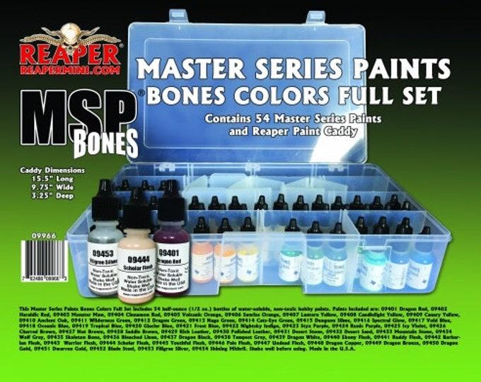Reaper 09966: Master Series Bones Paint Complete Set - Reaper Miniatures