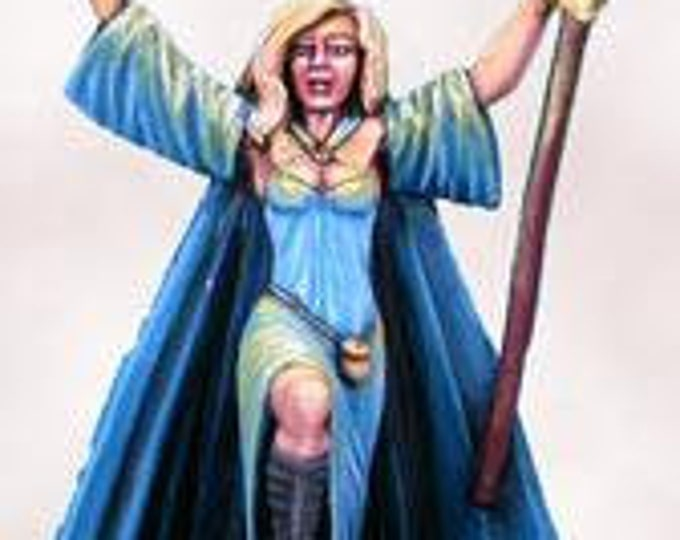 Elmore Masterworks: Castle Of Deception, Female Wizard - 1125 - Dark Sword Miniatures