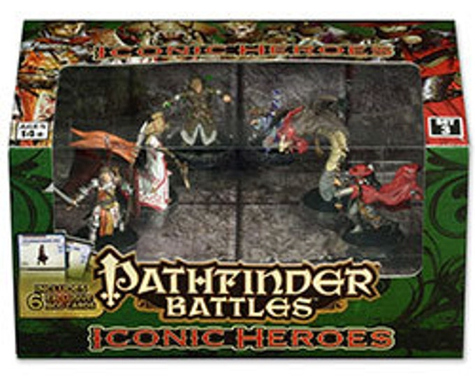 Pathfinder Battles: Iconic Heroes Set 3 Box - 71780 - WizKids
