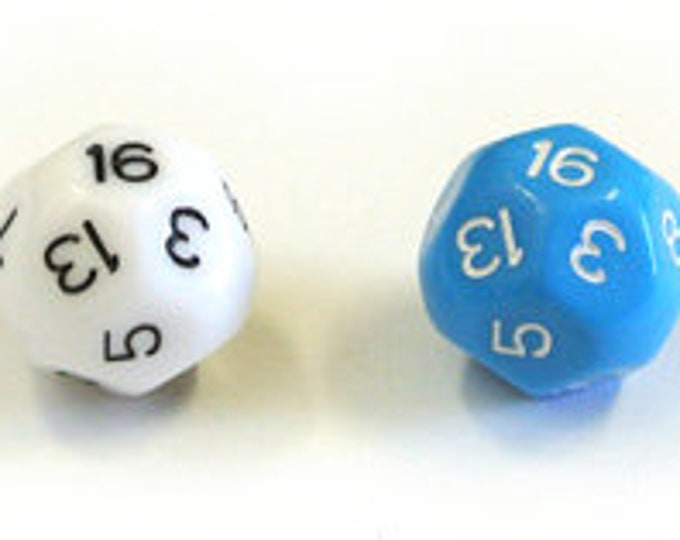 Unusual Dice - d16 Sixteen-Sided Die
