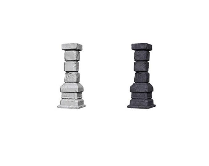 Wizkids Unpainted Minis: Pillars - 72584 - WizKids