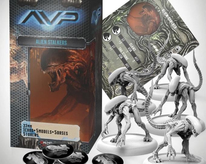 Alien vs Predator (AVP): Alien Stalkers - 201106 - Prodos Games