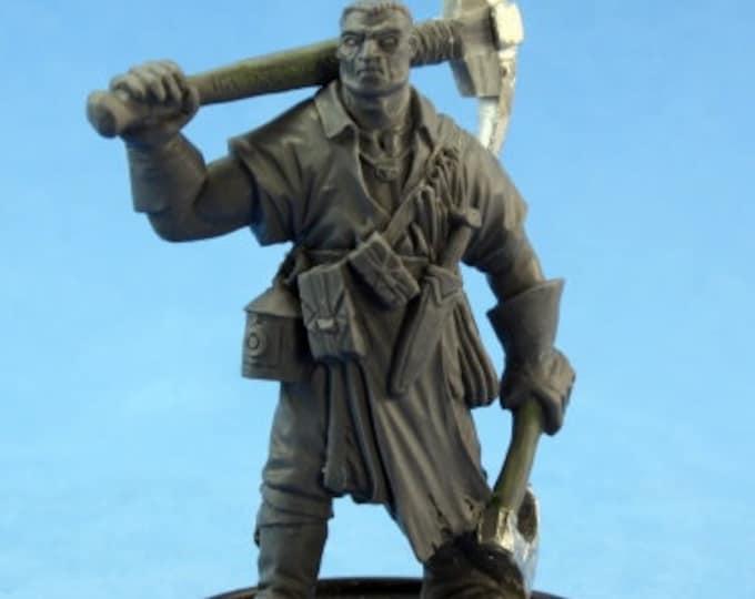 60140: Clegg Zincher - Reaper Miniatures