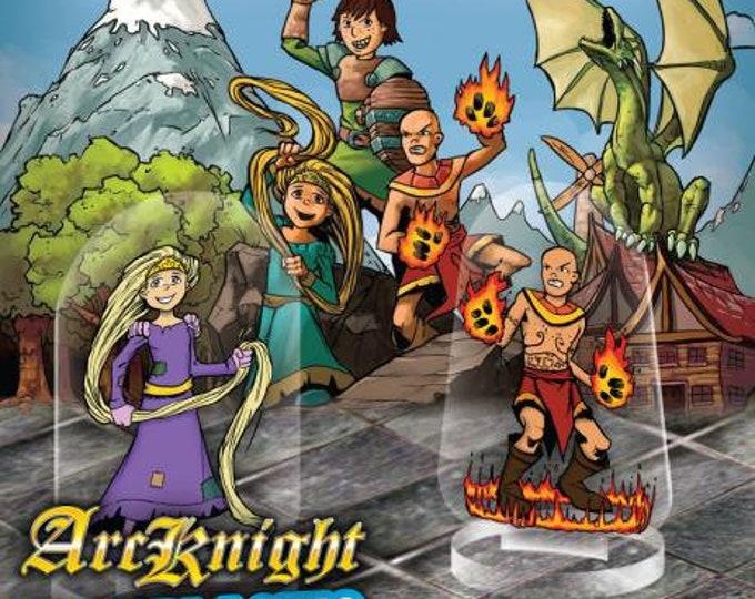 Flat Pack Miniatures: Hero Kids - ArcKnight
