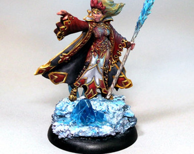 10052: Glacia the Winter Witch - Bombshell Miniatures