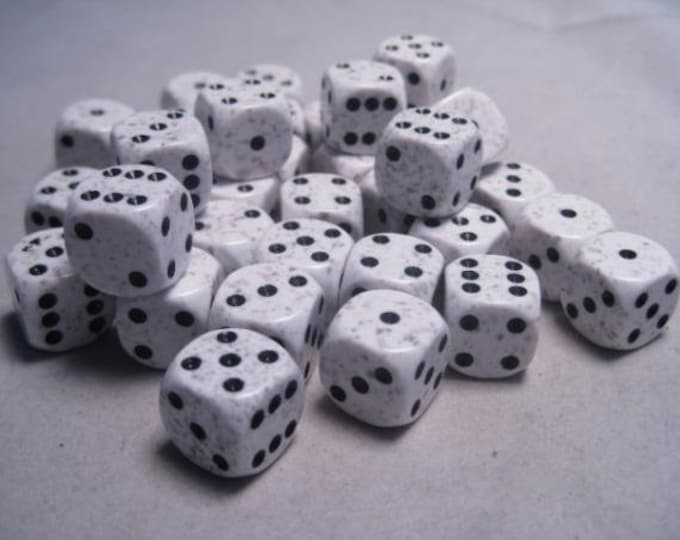 Arctic Camo Speckled 12mm d6 (36) - CHX25911 - Chessex