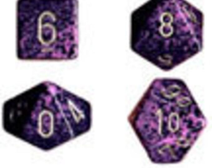 Hurricane Speckled Polyhedral 7-Die Set - CHX25317 - Chessex