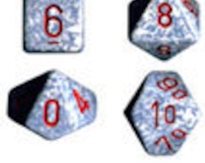 Air Speckled Polyhedral 7-Die Set - CHX25300 - Chessex