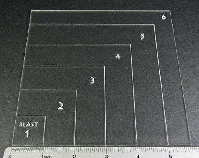 Blast Template A - LITKO Game Accessories