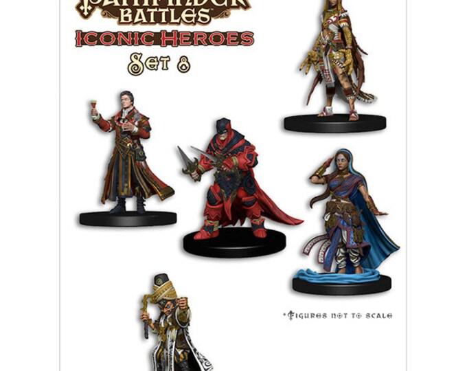 Pathfinder Battles: Iconic Heroes 8 Box - 72413 - WizKids