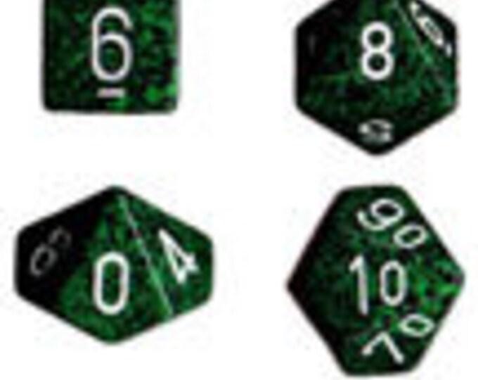 Recon Speckled Polyhedral 7-Die Set - CHX25325 - Chessex