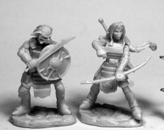 Hobgoblin Warriors (2) - 77476 - Reaper Miniatures