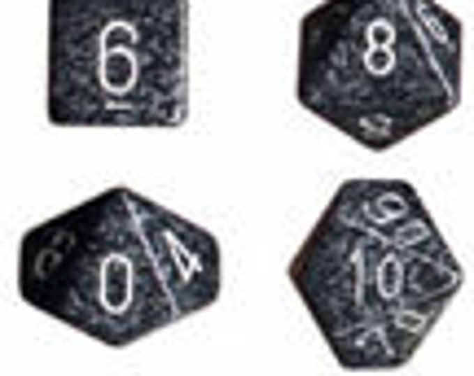 Ninja Speckled Polyhedral 7-Die Set - CHX25318 - Chessex