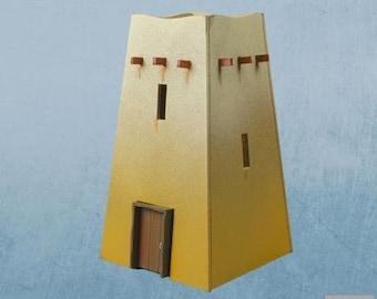 28mm Desert: Desert Building 03 - DESERT-03 - Plast Craft Games