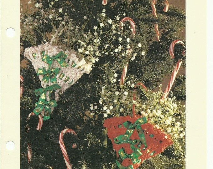 Party favor Christmas ornaments crochet pattern digital download