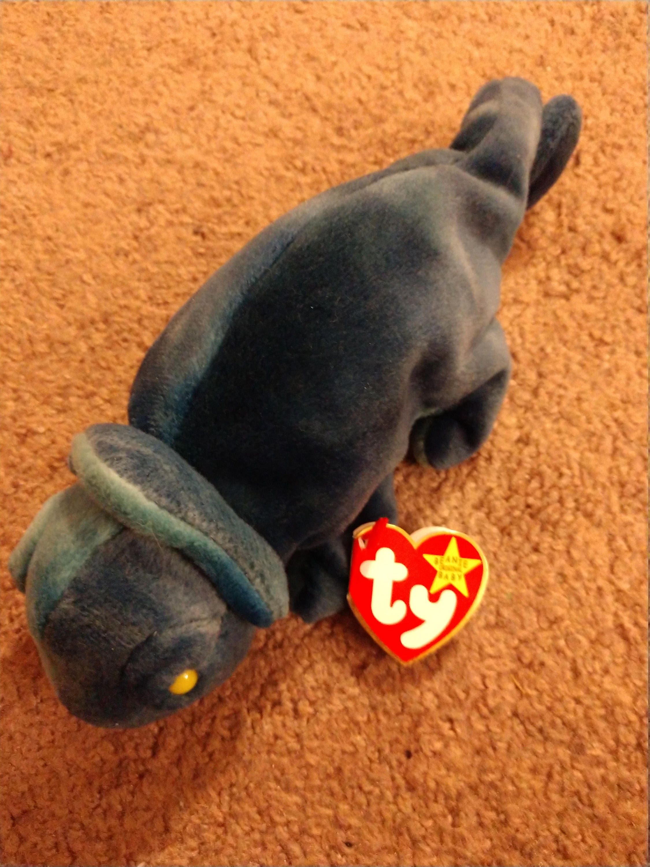 419913c5ee6 Rainbow the Chameleon - Blue - Ty Original Beanie Babies - 1997. gallery  photo gallery photo
