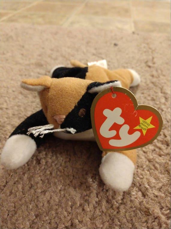 06ac1ebe4c1 Chip the Cat Ty Teenie Beanie Babies 1998 Misprint