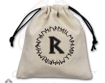 Dice Accessories: Runic Dice Bag - Q-Workshop