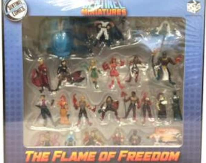 Sentinel Miniatures: The Flame of Freedom Miniature Pack (Pre-Painted) - Greater Than Games