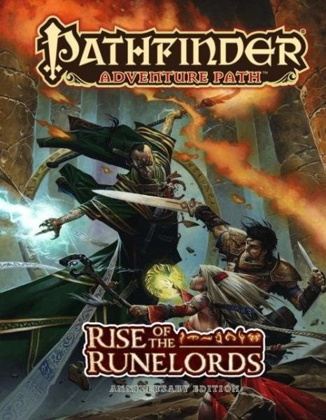 Pathfinder Adventure Path: Rise of the Runelords (Hardcover