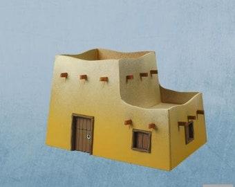 28mm Desert: Desert House 03 - DESERT-05 - Plast Craft Games