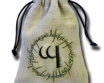 Dice Accessories: Elven Linen Dice Bag - Q-Workshop