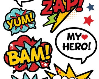 graphic about Superhero Cutouts Printable identified as Tremendous hero cutouts Etsy